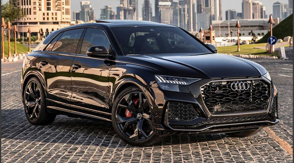 2021 Audi Q8 Base Wheels 55 Tfsi Samurai Gray