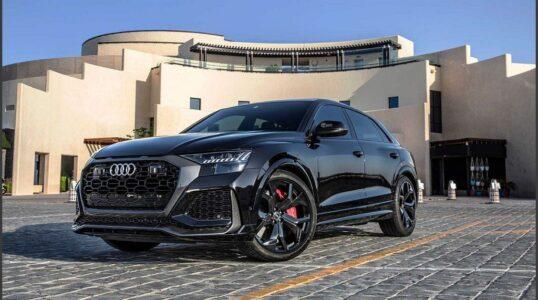 2021 Audi Q8 Pictures Glacier White Alone Samurai