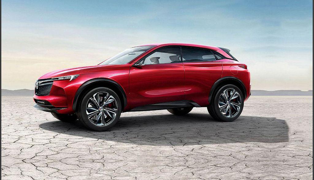 2021 Buick Enspire Electric Suv Interior