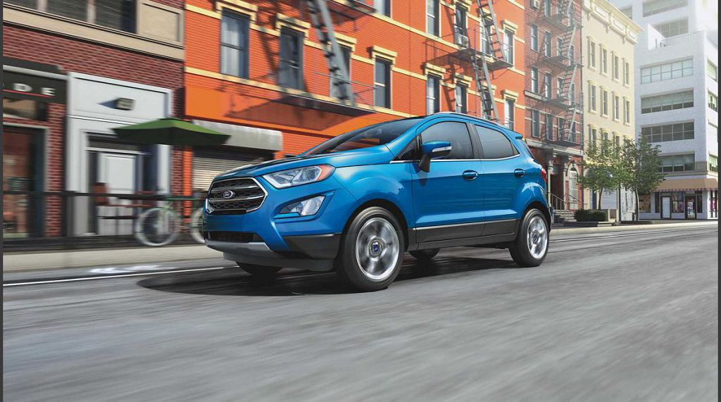 2021 Ford Ecosport Colors Hybrid