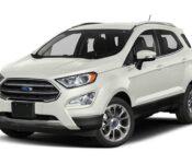 2021 Ford Ecosport Titanium S Awd Specs