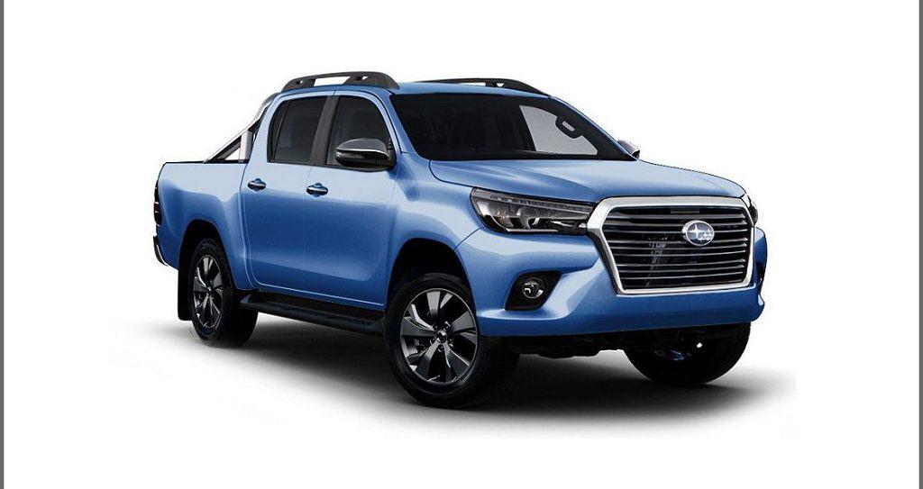 2021 Subaru Pickup Truck New Baja