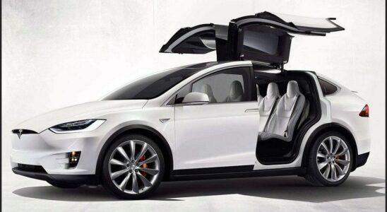 2021 Tesla Model X Changes P100d Black Dimensions