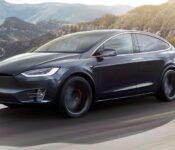 2021 Tesla Model X Performance Range Weight Spy Photos
