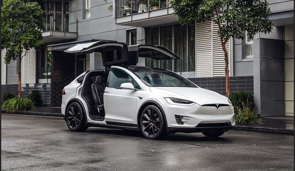2021 Tesla Model X Screen Protector P100d White Release