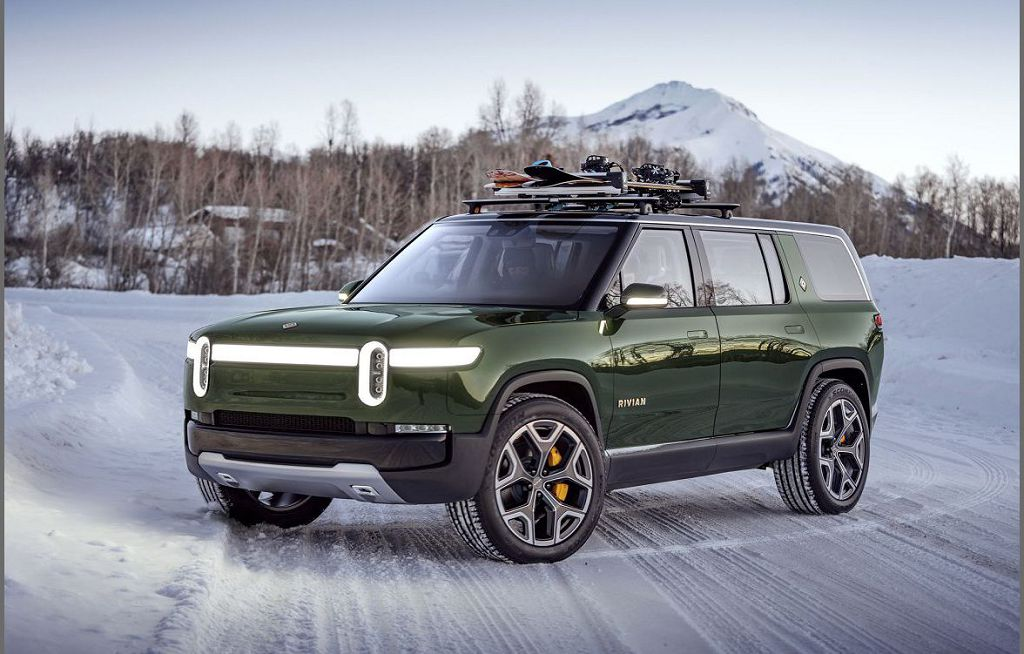 2022 Rivian R1s Electric Suv Base Style 002
