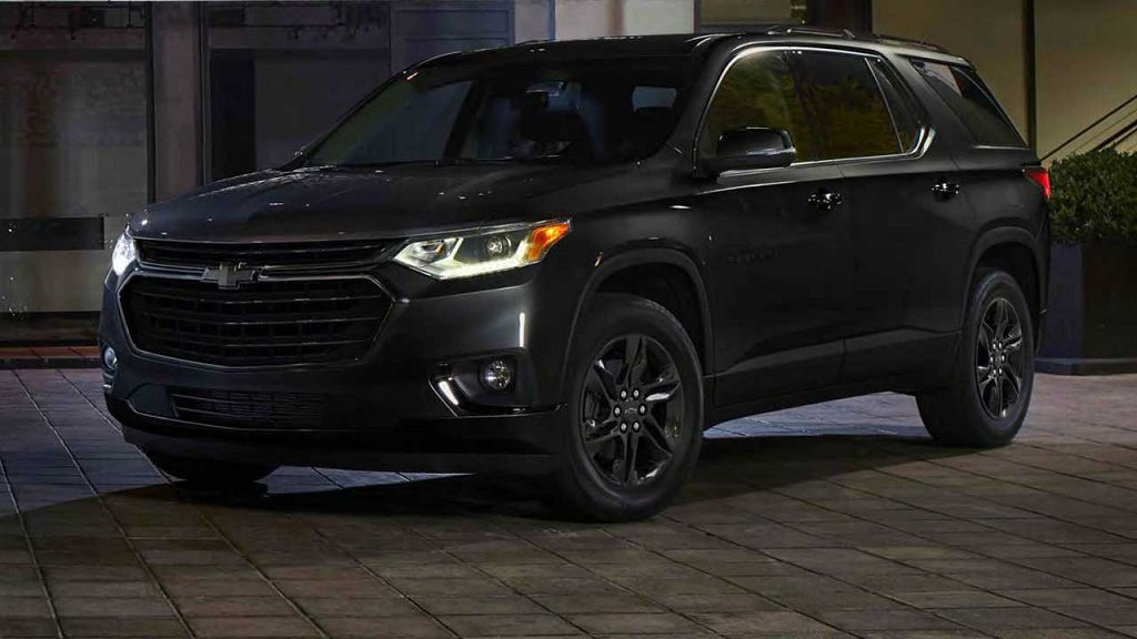 2021 Chevy Traverse Options Pricing Awd 2lt For Sale