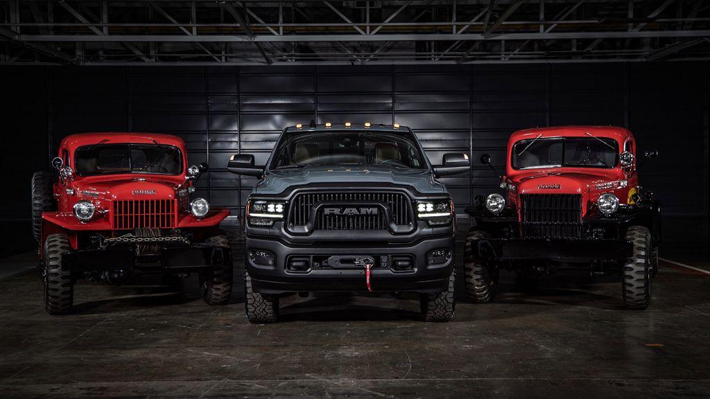 2021 Ram Power Wagon Images Hellcat