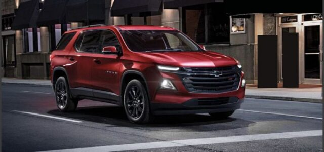 2022 Chevy Traverse Rs