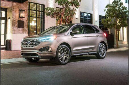 2022 Ford Edge Redesign Titanium Titanium Elite St