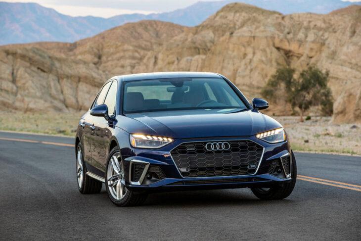 2022 Audi A4 Manual Transmission Price Premium