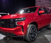 2022 Chevy Tahoe Z71 Cargo Space Pictures
