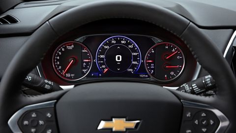 2022 Chevy Traverse Pictures Images Review