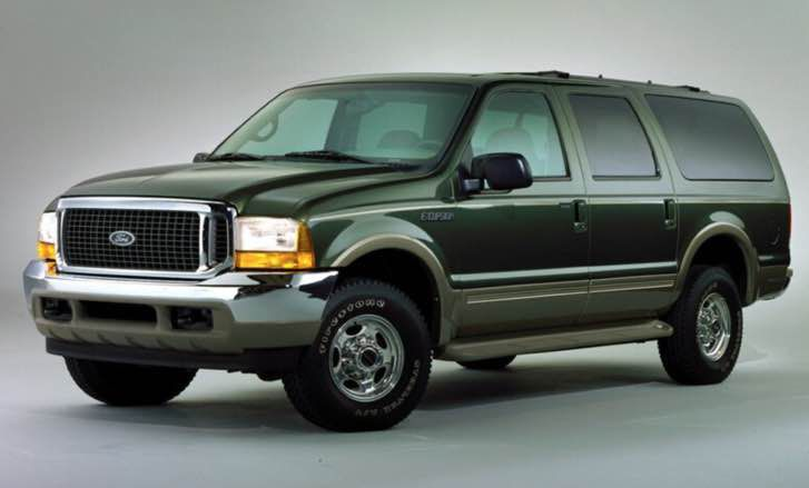 2022 Ford Excursion Diesel Limited