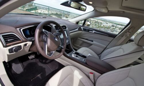 2022 Ford Fushion Titanium Titanium Fwd