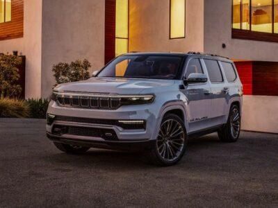 2022 Jeep Wagoneer Photos