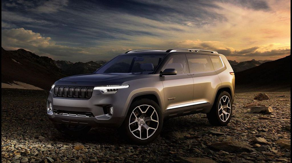 2022 Jeep Wagoneer Spy Shots Colors