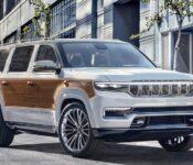 2022 Jeep Wagoneer Vs Grand Spy Photos