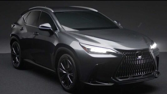 2022 Lexus Nx Hybrid 300 Redesign