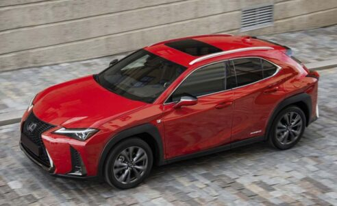 2022 Lexus Ux Spy Photos Release Date