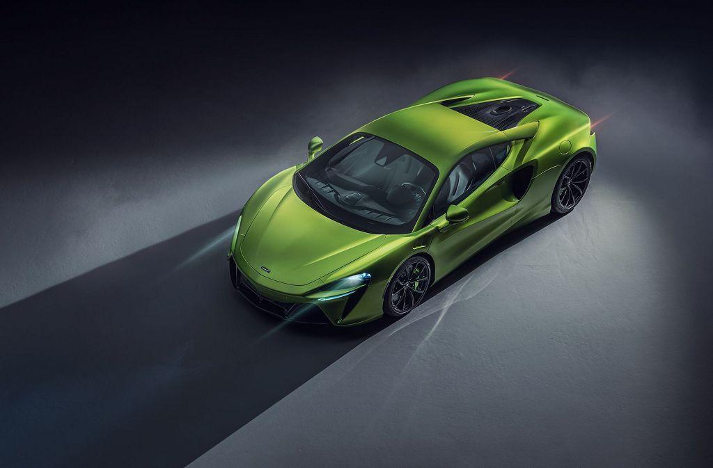 2022 Mclaren Artura Colors Green Review Drive