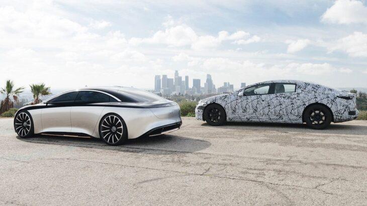 2022 Mercedes Benz Eqs Eqa