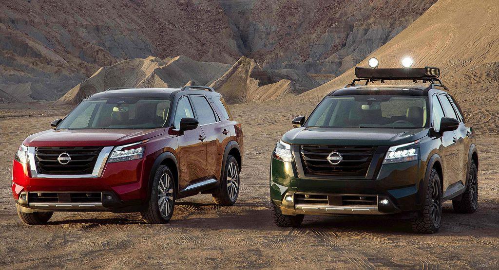 2022 Nissan Pathfinder Design Hybrid Exterior