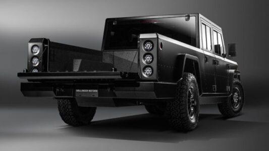 2021 Bolinger B2 B1 B2 Electric Truck