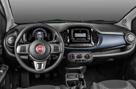 2021 Fiat Mobi Pickup Drive Dimensiones