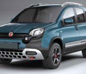 2021 Fiat Panda Cross Boot Space Black
