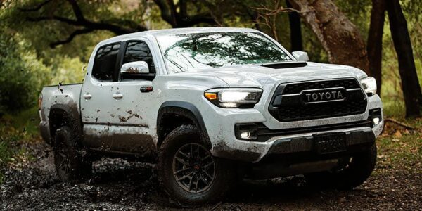 2021 Toyota Tacoma Black Cost Interior