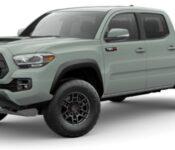 2021 Toyota Tacoma Diesel Engine