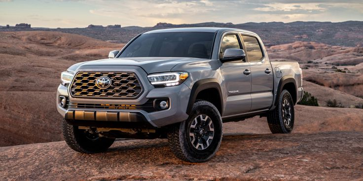 2021 Toyota Tacoma Extended Cab Exterior Colors