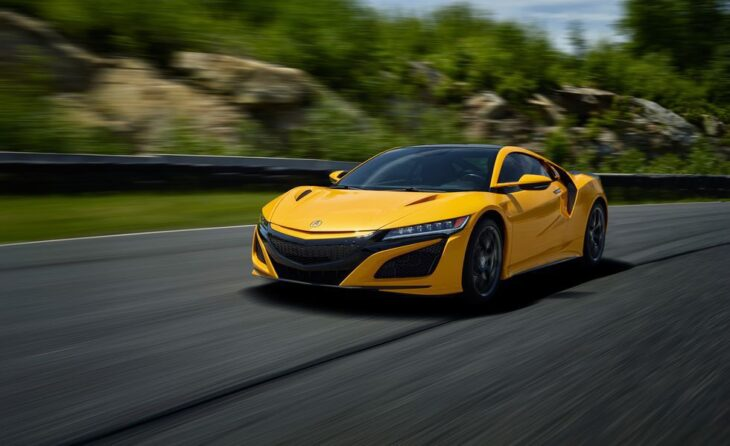 2022 Acura Nsx Automatic Acceleration