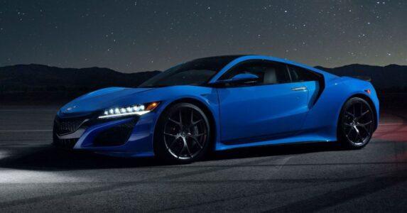 2022 Acura Nsx Blue Black Interior Images