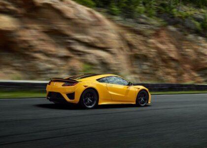2022 Acura Nsx Options Drivetrain