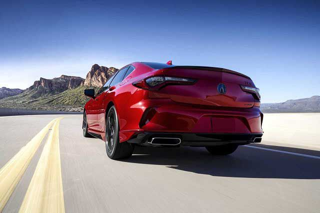 2022 Acura Tlx A Spec Type S 0 60
