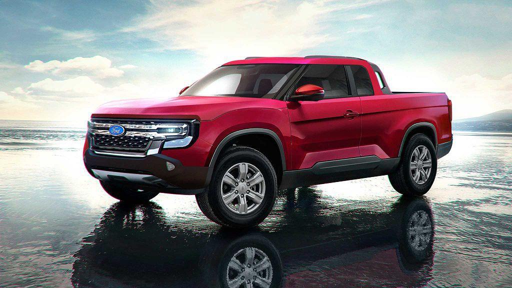 2022 Ford Maverick Pickup Truck Images Length