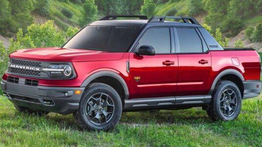 2022 Ford Maverick Towing Capacity Dimensions