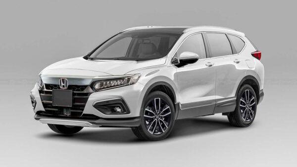 2022 Honda Crv Redesign Hybrid Changes