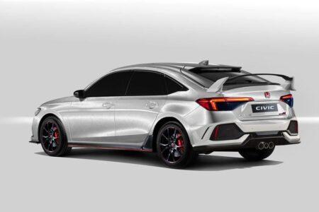 2022 Honda Civic Prototype Sport Sedan Si