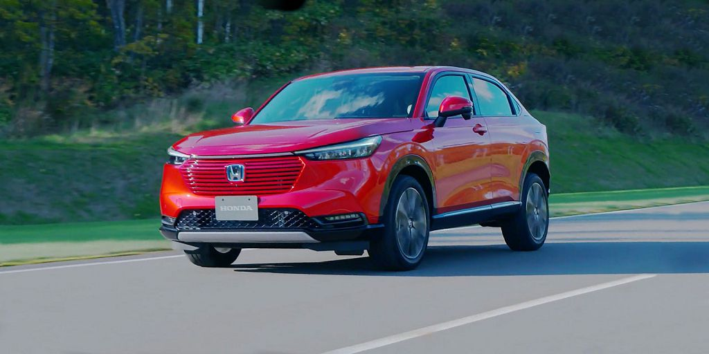 2022 Honda Hrv Review Ex Redesign Pictures