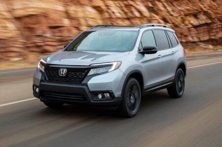 2022 Honda Passport Spy Pictures Release Date Offroad Model