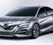 2023 Honda Accord Redesign Spy Shots