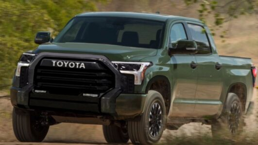 2022 Toyota Tundra Body Style Black Limited