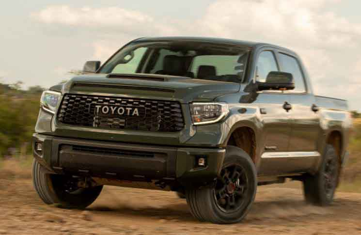 2022 Toyota Tundra Reveal Trd Pro Colors