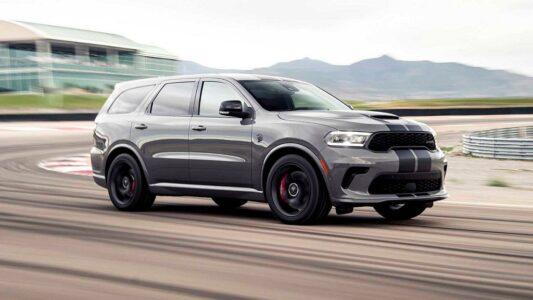 2022 Dodge Durango Reviews Sxt Srt 392