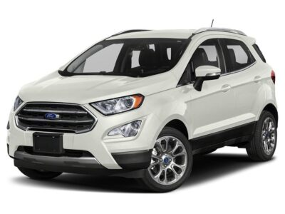 2022 Ford Ecosport Black Blue Configurations Cargo Space
