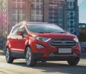 2022 Ford Ecosport Redesign Titanium Cost Canada