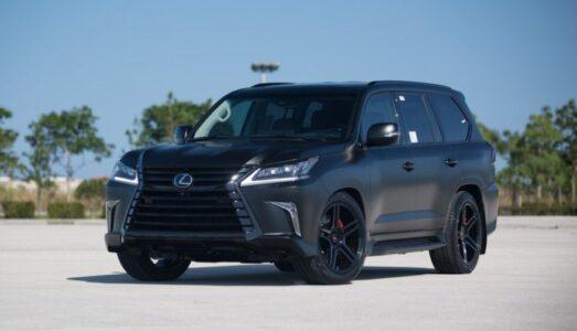 2022 Lexus Lx 570 Black Edition Colors